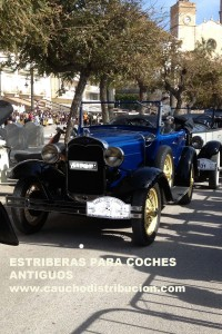 estribera coche antiguo