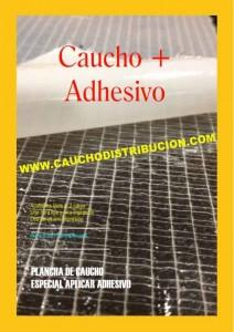CAUCHO  + ADHESIVO