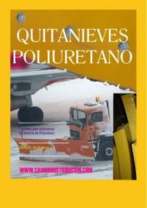 quitanieve poliuretano aeropuerto