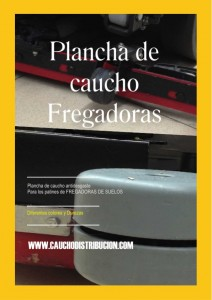 CAUCHO ANTIDESGASTE FREGADORAS