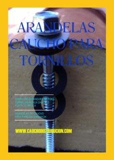 Arandelas de caucho para tornillos caucho distribucion blog - Caucho para tejados ...