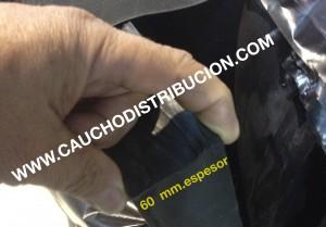 CAUCHO GRAN ESPESOR
