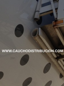 defensa caucho epdm blanco avion